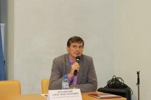 Встречу по традиции провел глава управы Александр Красовский