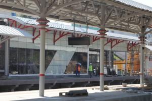 Одна из станций МЦК в ЮАО