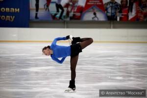 Олимпийская чемпионка А. Сотникова