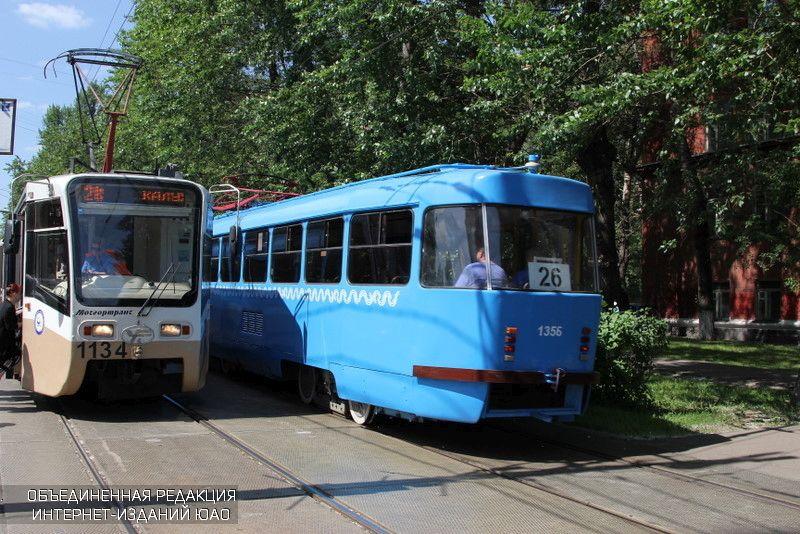 Движение трамваев пошоссе Энтузиастов возобновлено после реконструкции путей