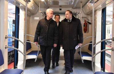 Самые современные поезда «Москва» вышли на линию в московском метро