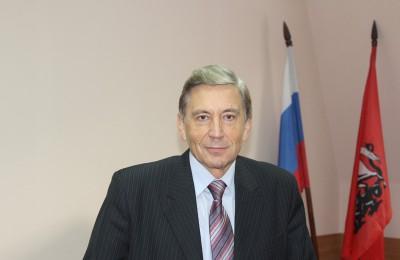 Депутат муниципального округа Александр Глазков