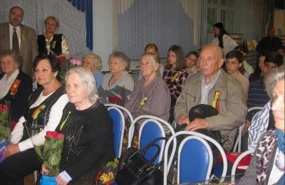 Вечер памяти в Нагорном районе