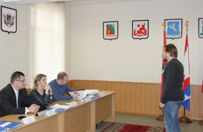 Одно из заседаний призывной комиссии в Нагорном районе