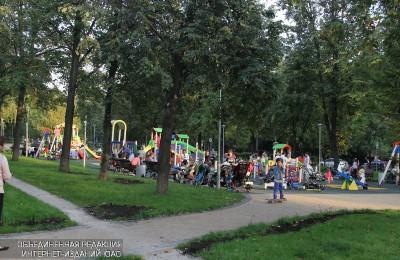В Нагорном районе благоустроили зону отдыха