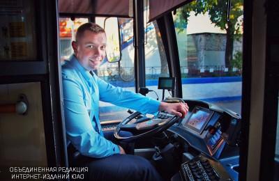 Алексей Мосляков лучший водитель троллейбуса в Москве