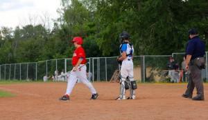 Тренировка команды по бейсболу в ЮАО