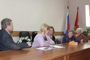 Совещание с участием депутатов, жителей, представителей управы и ГБУ Жилищник