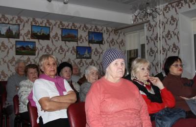 Пенсионеры в Нагорном районе