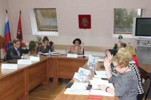 Заседание депутатов в Нагорном районе