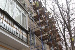 Капитальный ремонт в одном из домов Нагорного района