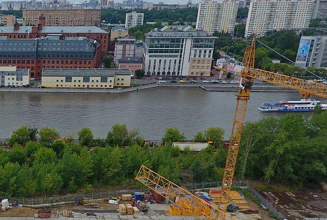 Бассейн вМоскве-реке может появиться рядом сЗИЛом