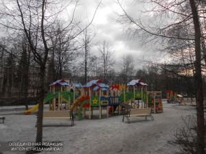 Детские площадки в Нагорном районе