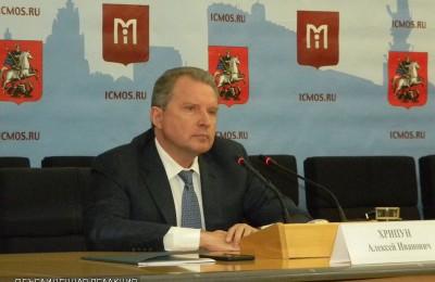 Глава Департамента здравоохранения столицы Алексей Хрипун