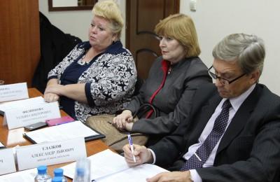 Депутаты муниципального округа Нагорный
