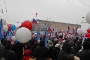 Митинг на Тверской улице