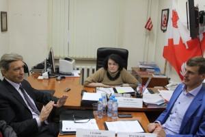 Фото с заседания депутатов