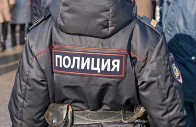 Полицейские задержали подозреваемого в незаконном хранении оружия