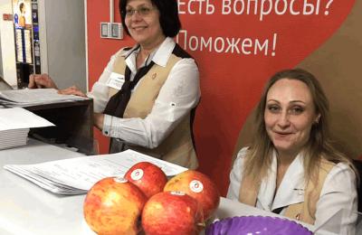 "Сотрудницы центра госуслуг ""Мои документы"""