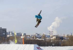 Соревнования по сноуборду в ЮАО