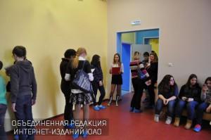 Ученики школы в ЮАО