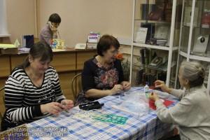 Посетители библиотеки №148 имени Тютчева