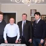 Поздравление со 100-летним юбилеем Героя Российской Федерации Алексея Ботяна