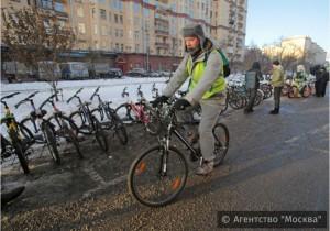 Велосипедист в ЮАО