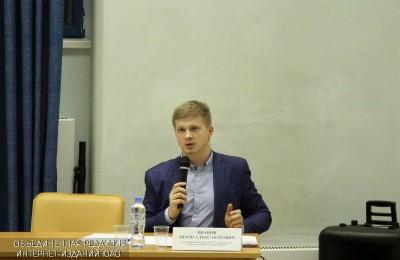 Встреча исполняющего обязанности главы управы района Антона Иванова с жителями