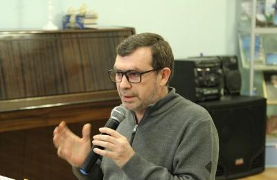 Встреча с с писателем Павлом Басинским в библиотеке №148