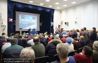 Встреча префекта Алексея Челышева с жителями