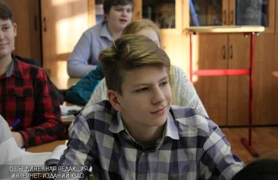 Школьники в Москве