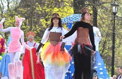 Весенний фестиваль продолжается в парках Москвы