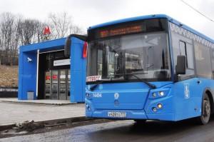 Новый автобус №908 в Москве