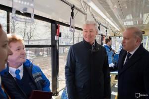 Сергей Собянин рассказал о запуске нового трамвая в Москве