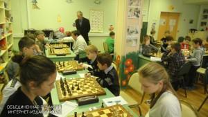 Юные шахматисты района