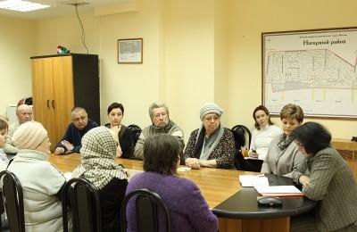 Депутаты муниципального округа на заседании