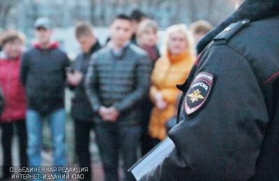 Встреча участкового уполномоченного полиции Владимира Пенинберга с жителями района