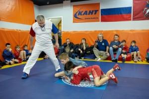 Соревнования по самбо в КАНТе