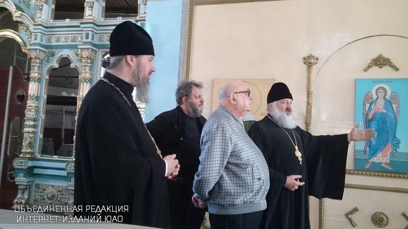 ВЮАО заканчивается возведение 3-х православных храмов