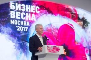 Сергей Собянин рассказал развитии столичного предпринимательства