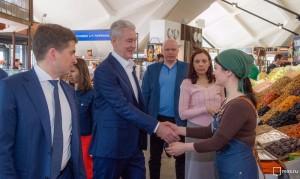 Собянин рассказал о развитии рыночной торговли в Москве