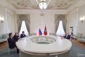 Мэр Москвы Сергей Собянин на встрече с представителями Общественной палаты столицы