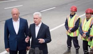 Сергей Собянин открыл движение на участке Калужского шоссе