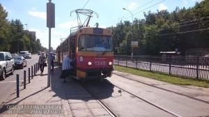 Трамвай №1 в ЮАО