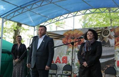 День Победы в Нагорном районе
