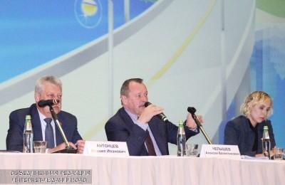 Префект ЮАО Алексей Челышев на встрече с жителями