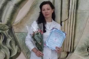 Сотрудница Городской поликлиники №2 Наталья Комова