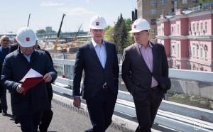 Мэр Москвы Сергей Собянин рассказал о строительстве Северо-Восточной хорды