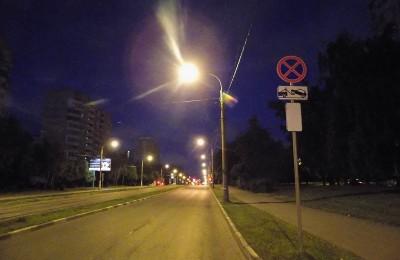 Новые фонари появятся в районе